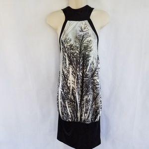 SILKY Stretch HALTER DRESS/LONG TOP Artsy Oriental